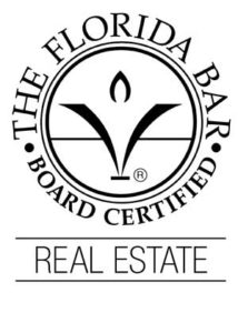 Florida Bar Certified in Real Estate