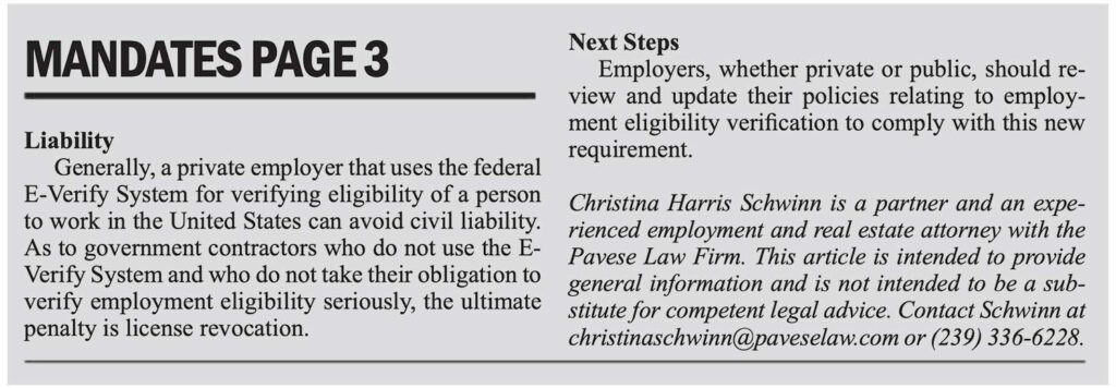 Florida Employment Eligibility Requirements 2021 (page2)